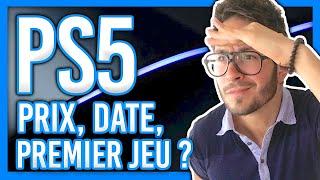 PS5 : date de sortie, prix et premier gros jeu dévoilés ?