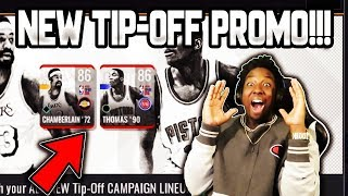 NEW TIP-OFF PROMO COMING TO NBA LIVE MOBILE 19!!!