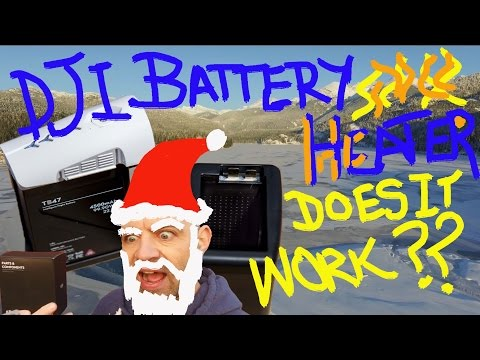 How to Use DJI Inspire 1 DRone Battery Heater! IS IT Any GOOD?