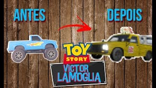 FIZ O CARRO DO PIZZA PLANET! (TOY MAKEOVER) #MICHELINBESTDRIVER - Victor Lamoglia