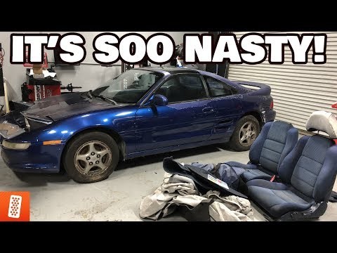 STARTING THE SW20 MR2 BUILD! *TEAR DOWN W/ EVAN & RICK*