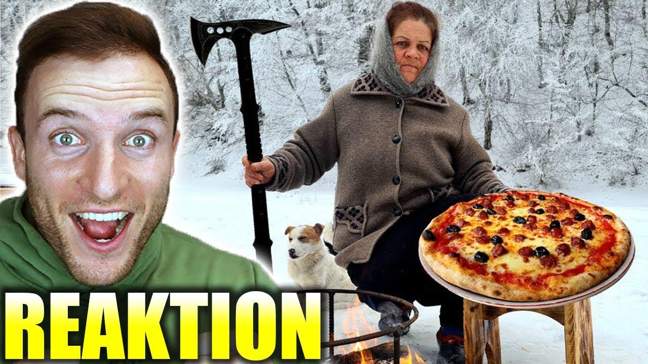 Sie kocht die legendärste Pizza der Welt! | Gemütliches Video Level 9000 - Sascha Huber Reaktion