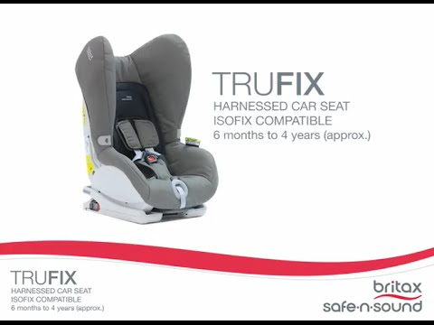britax safe n sound trufix isofix compatible car seat baby mode australia youtube. Black Bedroom Furniture Sets. Home Design Ideas