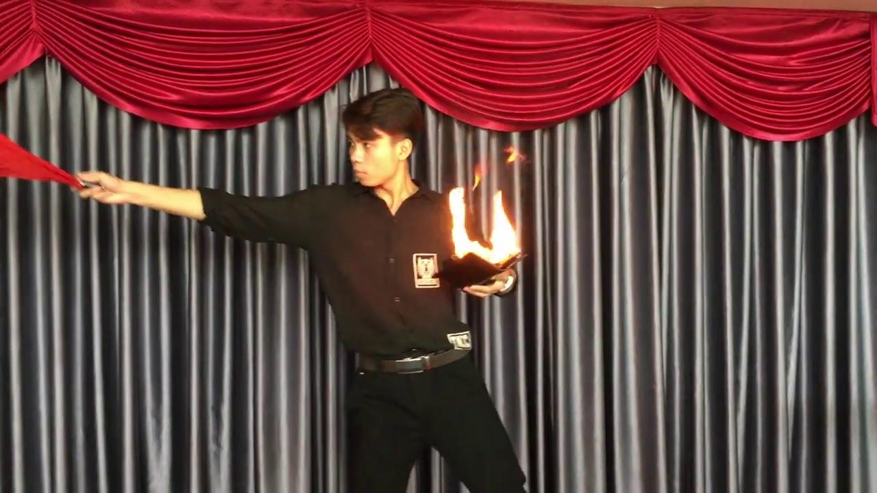 Fire Wallet  BÓP LỬA MA THUẬT trò ảo thuật gây ấn tượng trước đám đông