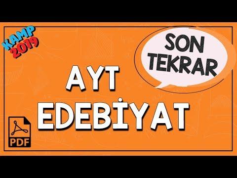 AYT Edebiyat Son Tekrar | Kamp2019