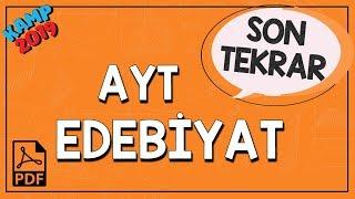 AYT Edebiyat Son Tekrar  Kamp2019