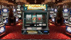 Respins & Diamonds Slot Features & Game Play - by Red Rake