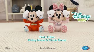 Disney Baby | Peek-A-Boo Mickey and Minnie Mouse Plush