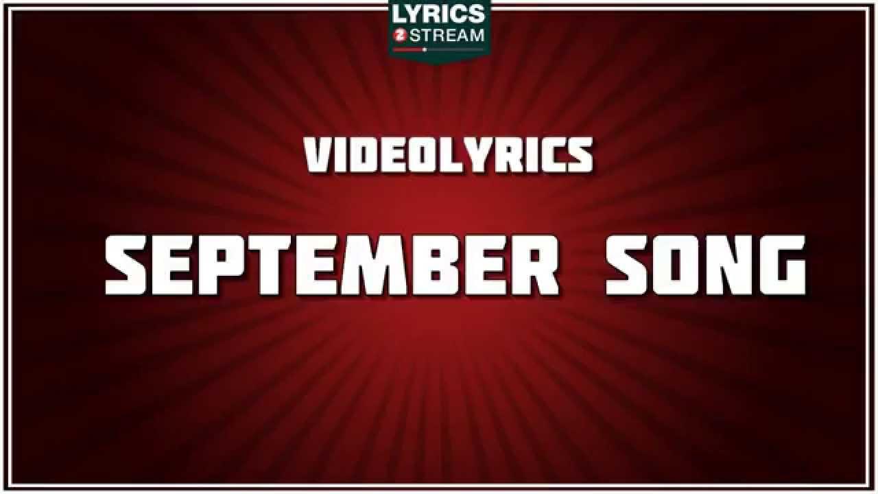 FRANK SINATRA - September Song (with lyrics) - YouTube