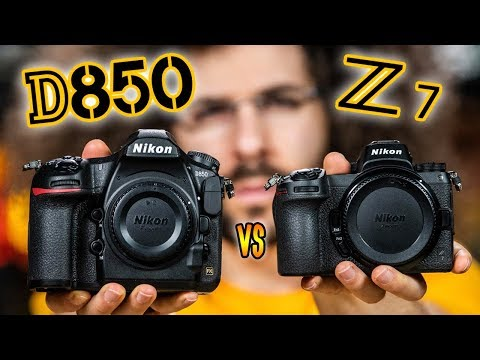 Nikon D850 vs Nikon Z7: Which Camera To Buy? The ULTIMATE BATTLE