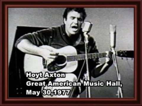 Hoyt Axton Great American Music Hall May 30,1977