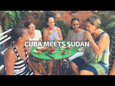 Cubans Try Snacks from Sudan!