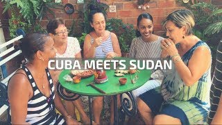 CUBANS TRY AFRICAN SNACKS FOR THE FIRST TIME! (HILARIOUS)