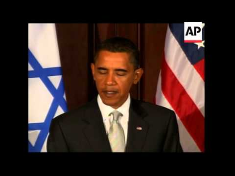 US President meets Israeli PM and Palestinian president