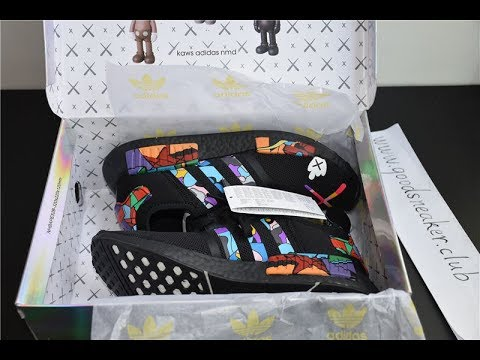 52453b13a Closer look at KAWS X ADIDAS NMD from www.goodsneaker.club - YouTube