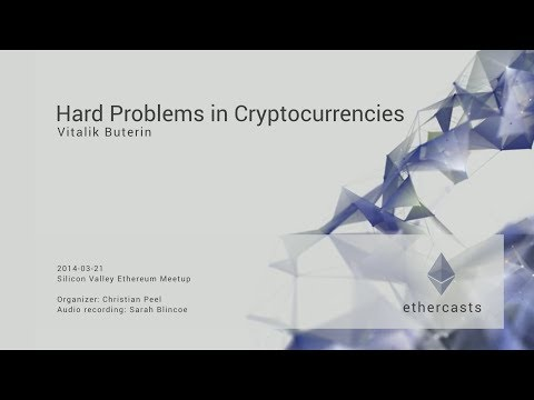 Hard Problems in Cryptocurrency