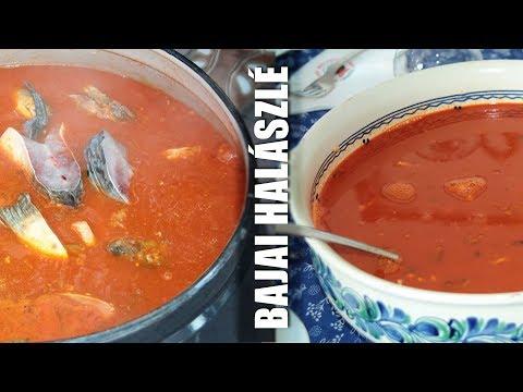Bajai Halászlé Recept A Fehértói Halászcsárdából - Hungarian Fish-soup From Baja