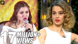 Anushka Sharma\'s BEST Reply To Kangana\'s Nepotism Comment On Koffee With Karan Season 5