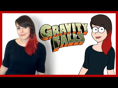 How to draw yourself gravity falls style