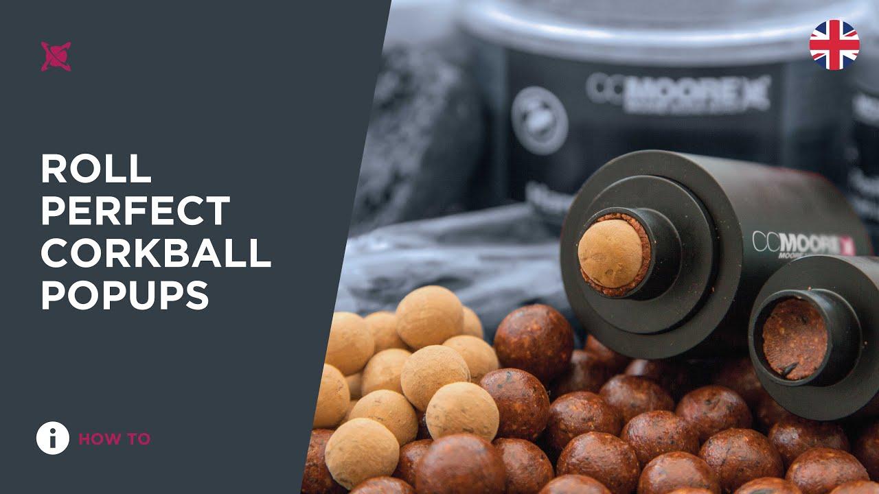 CCMoore Cork Ball Pop Up Roller 18mm