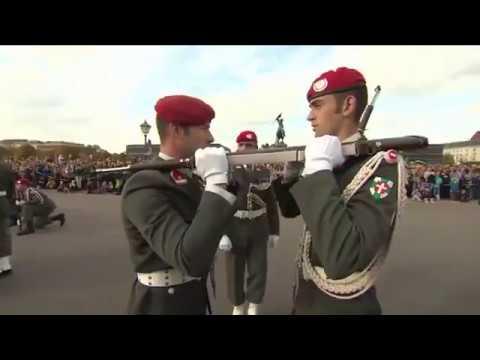 Nationalfeiertag 2017 - Vorführungen der Garde am Heldenplatz