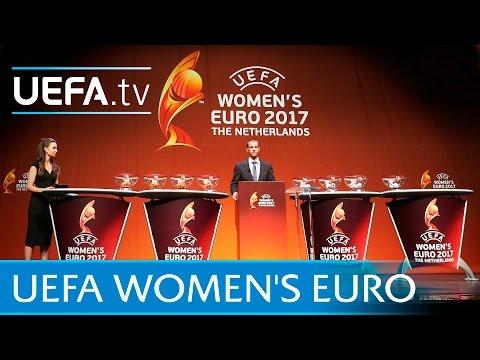 UEFA Women's EURO 2017 draw in full