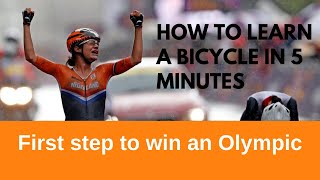 Learn How to Ride a Bike (Bicycle) in 5 Minutes 🚴🚲🚴Without Training Wheels with six seconds rule