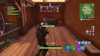 Fortnite New abstract skin gameplay