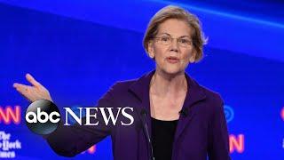 Elizabeth Warren pressed on Medicare-for-all plan during debate
