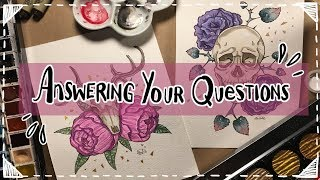 Answering Your Questions! 2018   Emily Artful thumbnail