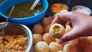 ಅತಿ ಸುಲಭ ವಿಧಾನದಲ್ಲಿ ಪಾನಿಪುರಿ ಮಾಡುವ ವಿಧಾನ | perfect pani puri Recipe | pani puri at home | pani puri
