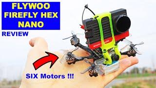 Vidéo: FLYWOO - FIREFLY HEX NANO - Analog (caddx Ant) - TBS