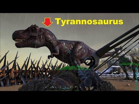 ARK: Survival Evolved #35 - Bắt được khủng long bạo chúa Tyrannosaurus