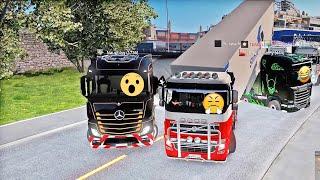 ETS 2 - Idiots on the road / Najlepsze momenty