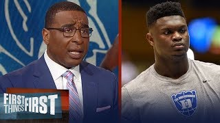 Cris and Nick agree Duke\'s Zion Williamson should play if he\'s healthy | CBB | FIRST THINGS FIRST