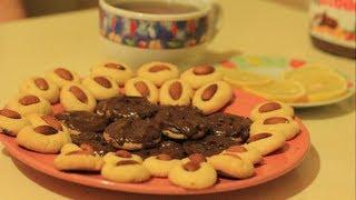 Рецепт печенья. Печенье с орехами, миндалём, фундуком.