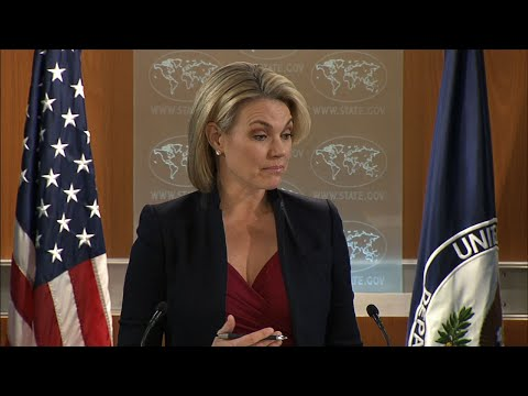 US State Dept. Reacts to Palestinian Complaints