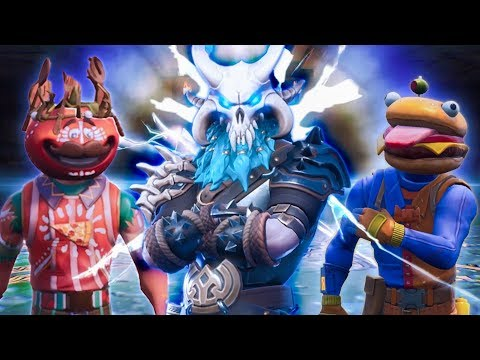 TOMATO HEAD SUMMONS RAGNAROK TO DESTROY DURR BURGER - Fortnite Short Film