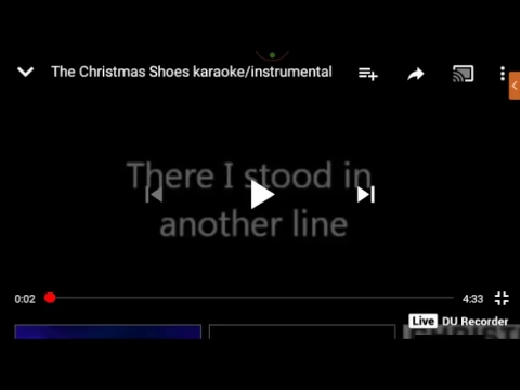 Christmas Shoes Newsong Cover