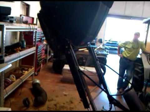 John Deere Hydraulic Dump Bagging System Youtube