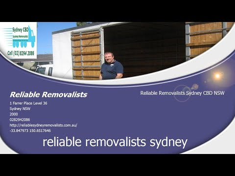 Sydney CBD Reliable Removalists (02) 8294 2086 | NSW Moving Governor Phillip Tower 1 Farrer Place