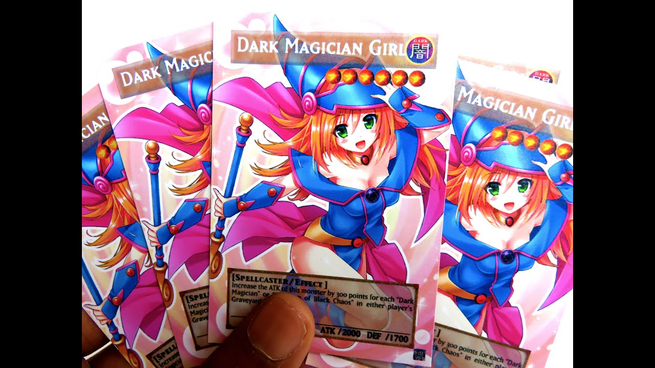 yugioh custom anime orica cards dark magician blue eyes