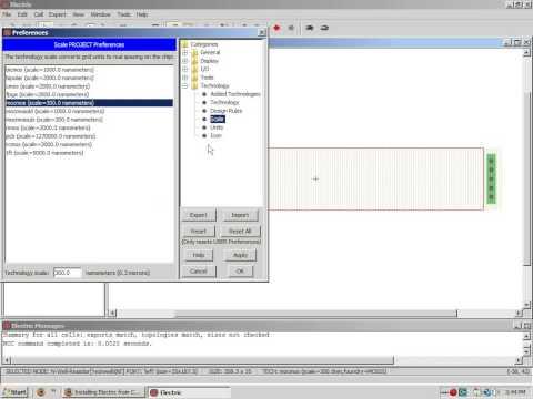 Electric VLSI Video Tutorial 1 by Professor Jake Baker
