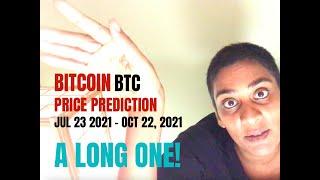 Bitcoin BTC Price Prediction 23 Jul -- 22 Oct, 2021