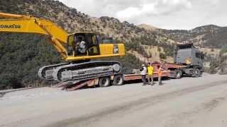 Scania R420 & Komatsu PC450 AFYON/TURKEY