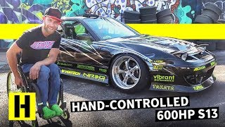Drifting 600hp With Hand Controls: Chairslayer's Supercharged 180sx!