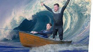 Wakeboard, Boot, Einkaufswagen. Die Winch zieht alles! | Kliemannsland