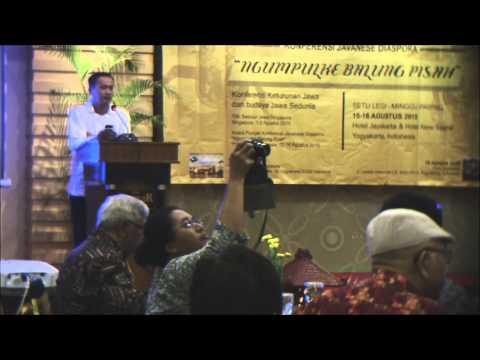 Javanese Diaspora Event 2015: Ngumpulke Balung Pisah (Part1)