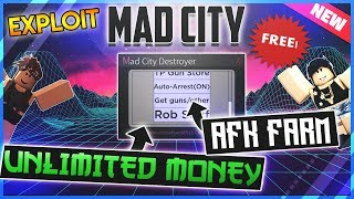 *OP* ROBLOX SCRIPT/HACK - MAD CITY ✅UNLIMITED MONEY, ARREST ALL, AUTO ROB AND MORE ✅