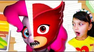 - ГОТОВИМ СУШИ из АЛЕТТ И ПОНИ Сказочный патруль шары куклы лол барби видео для детей детский летсплей